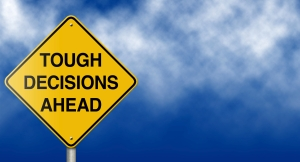 When faced with tough decisions: respond!